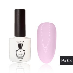 Гель-лак MB Pa-03 натуральный розовый Pastel Collection 8 мл ― My Beauty